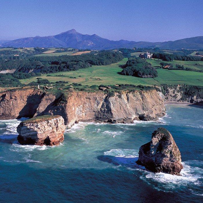 French basque coast the coast from hendaye to biarritz for Sokoa hendaye