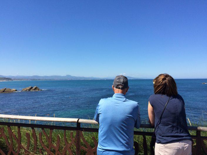"""Biarritz view"""
