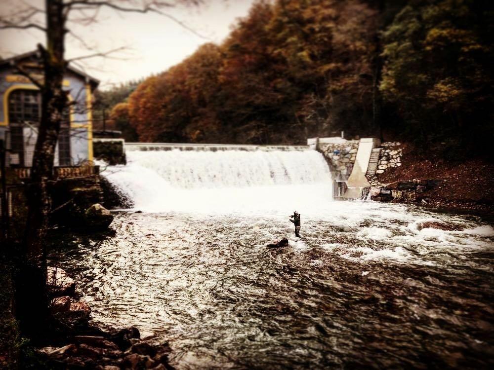 """river fishing"