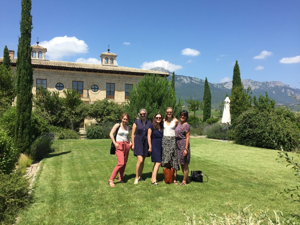 Rioja wine tasting and lunch