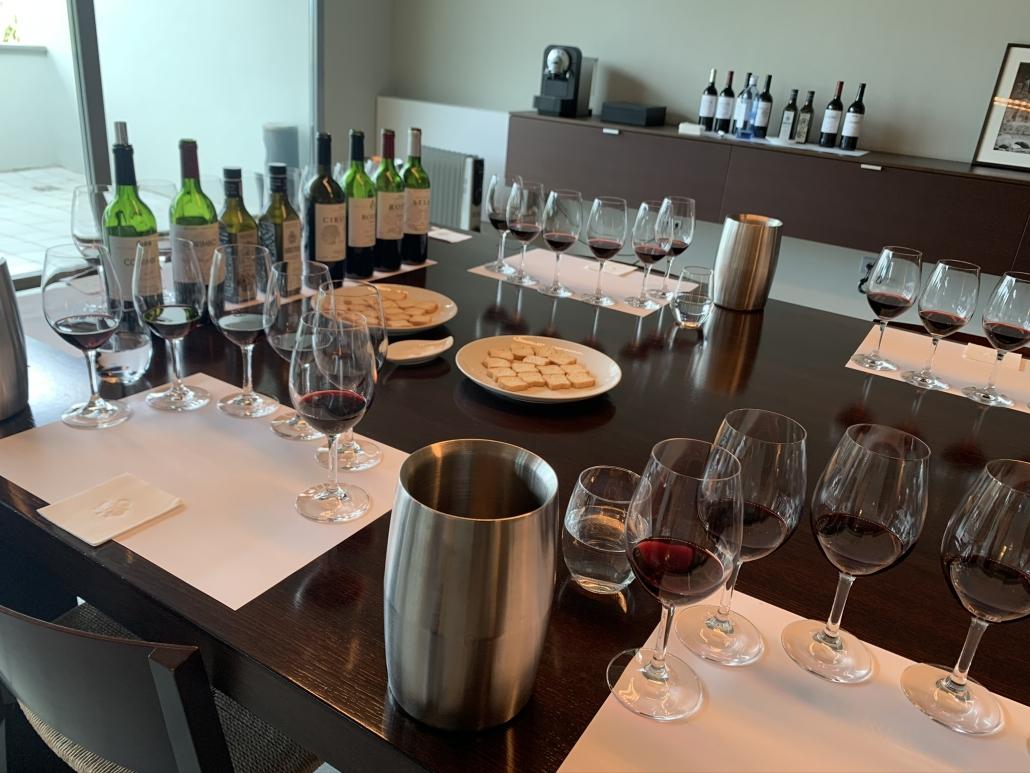 Wine tasting in Rioja